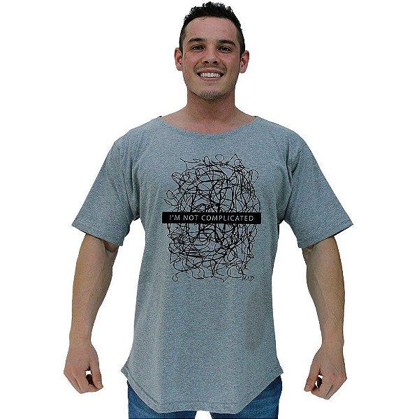 Camiseta Morcegão Masculina MXD Conceito Eu Não Sou Complicado