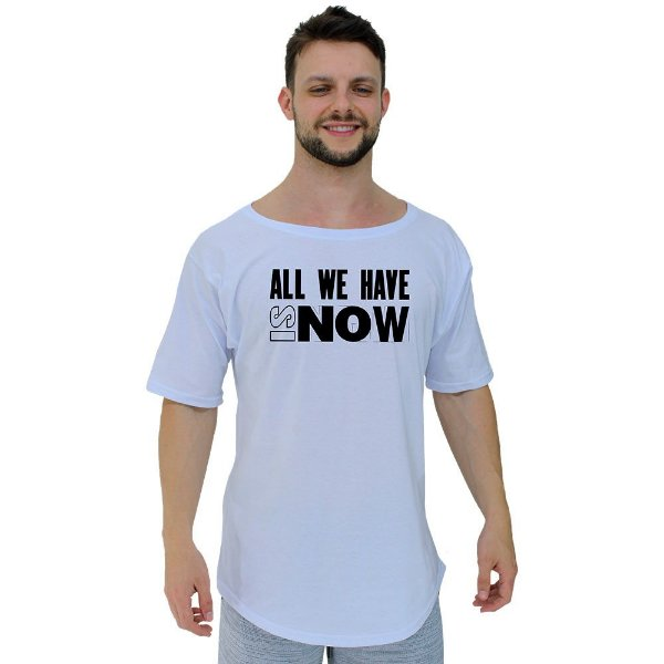 Camiseta Morcegão Masculina MXD Conceito All We Have Is Now