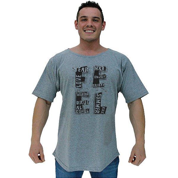 Camiseta Morcegão Masculina MXD Conceito Feel