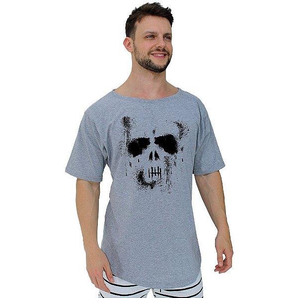 Camiseta Morcegão Masculina MXD Conceito Caveira Ghost