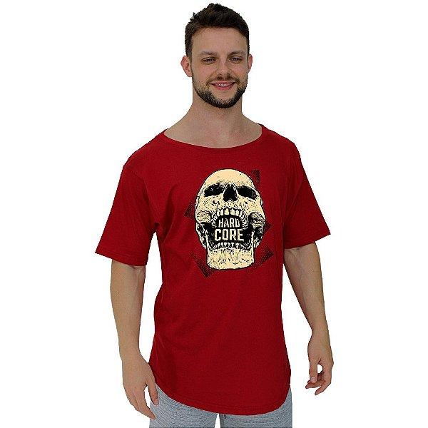 Camiseta Morcegão Masculina MXD Conceito Caveira Hardcore