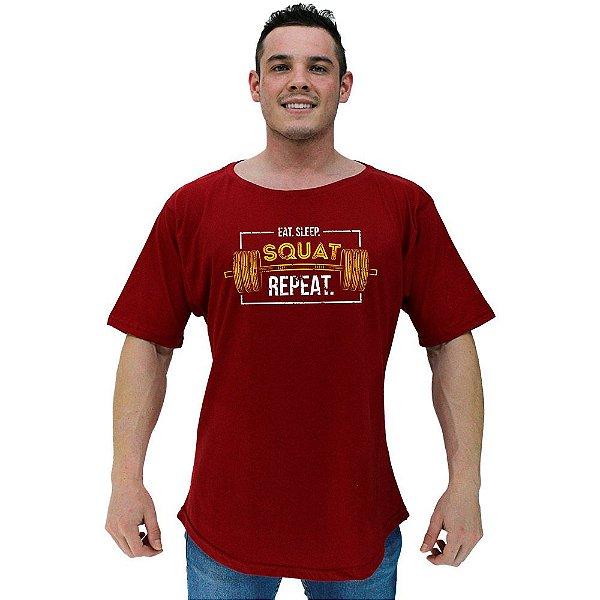 Camiseta Morcegão Masculina MXD Conceito Squat Repeat