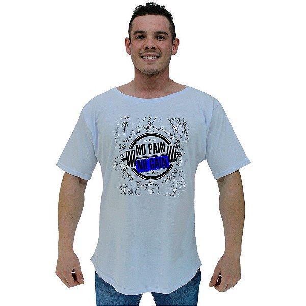 Camiseta Morcegão Masculina MXD Conceito No Pain No Gain