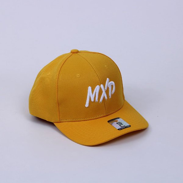 Boné Snapback MXD Conceito Unissex Amarelo Ouro