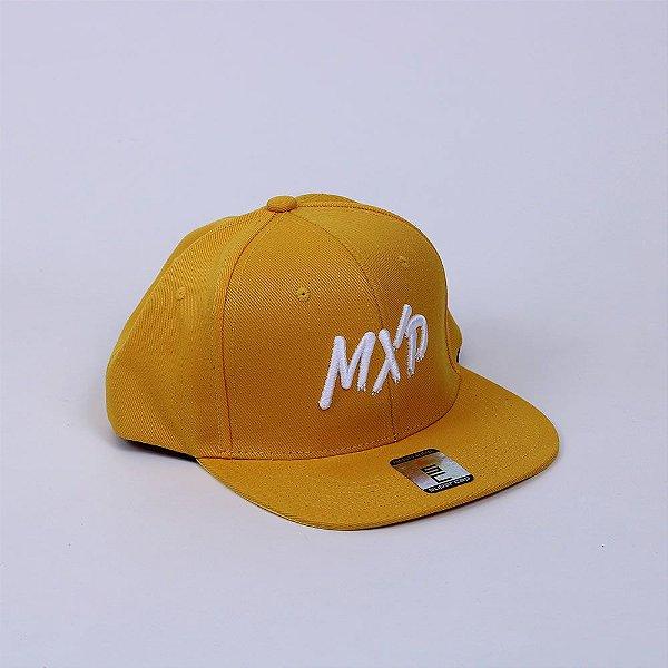 Boné Snapback MXD Conceito Unissex Amarelo Gold