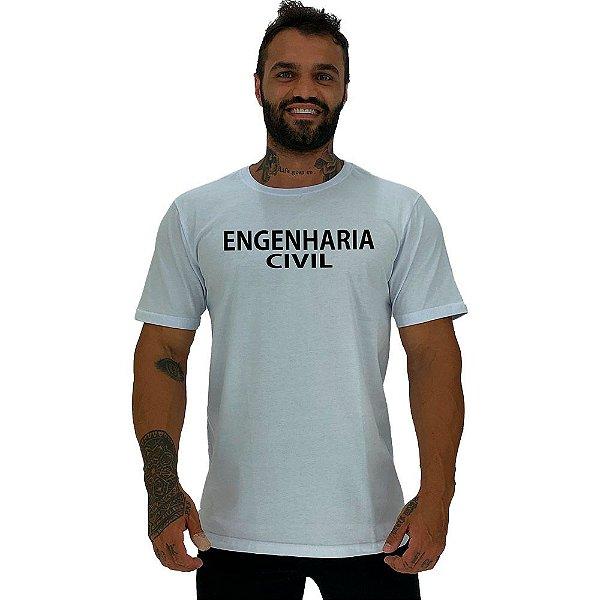 Camiseta Tradicional Universitária Engenharia Civil
