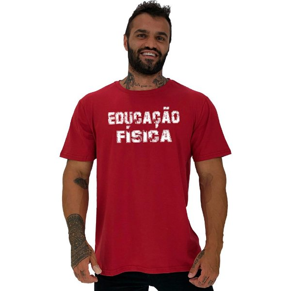 Camiseta Tradicional Universitária Educação Física