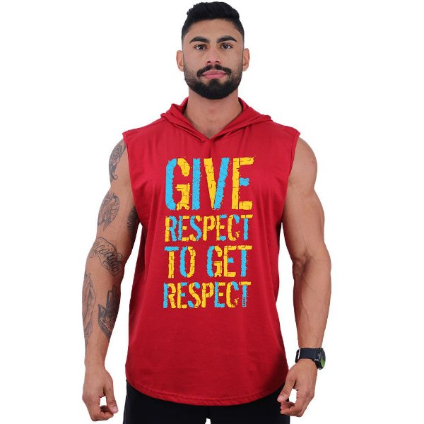 Regata Longline com Touca MXD Conceito Give Respect To Get Respect