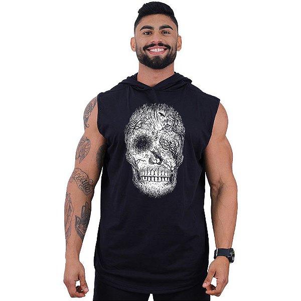 Regata Longline com Touca MXD Conceito Forest Skull