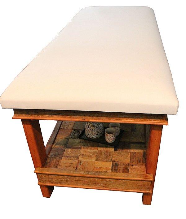 Mesa Para Massagem Multifuncional Peroba - 75cm largura