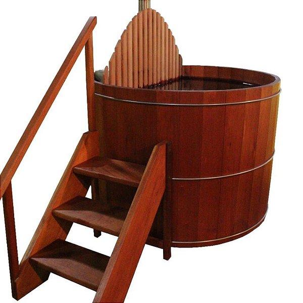 Ofurô SPA aquecimento à Lenha  - Ofurô confeccionado em madeira - MULTIFORMA.