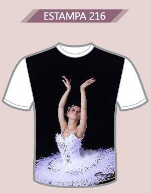 Camiseta Meia Manga Capezio