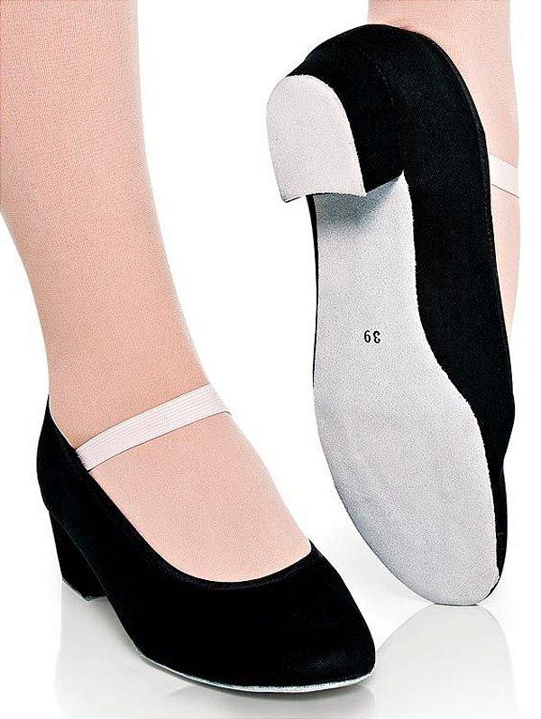 Sapato Caráter 4 cm Capezio