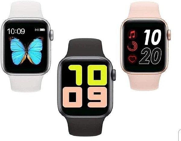 Relógio Smartwatch Iwo Max T500 + Pulseira Milanese Todas As Cores