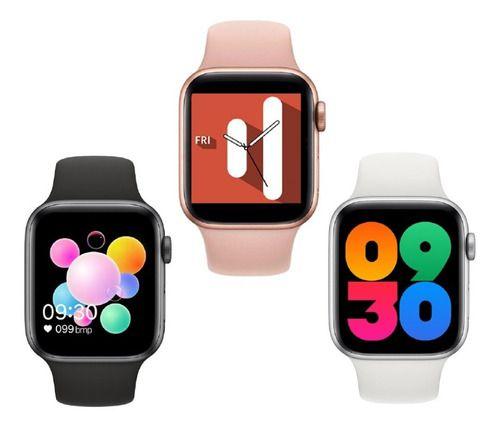Smartwatch Relógio Iwo U78 Plus Atende Ligação Gps Foto Tela Ios Android