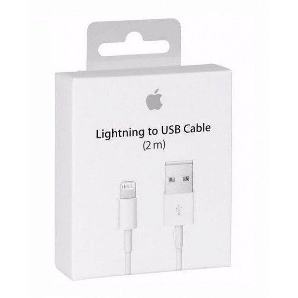 Cabo Lightning De iPhone Original Carregador Apple 2 Metros