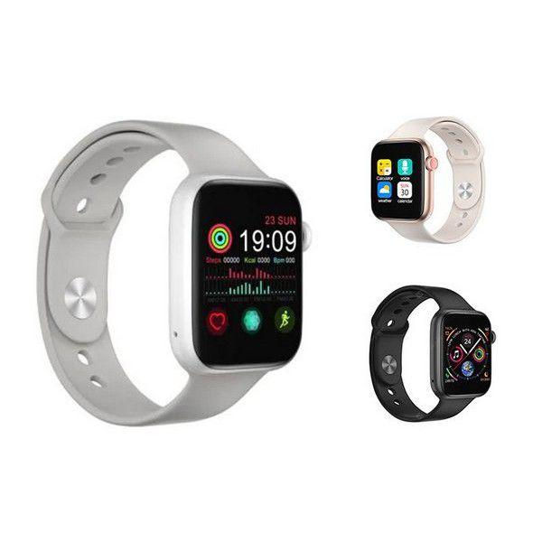 Relogio Smartwatch Iwo T5 Pro Max 44mm Ios iPhone Android Versão Atualizada 2021