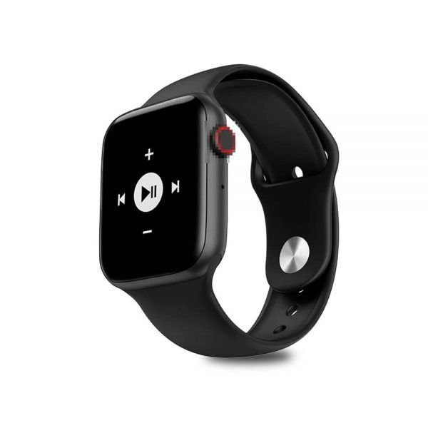 "Smartwatch IWO IWO Lite IWO 8 Lite Series 4 1.54"" caixa black pulseira black W34"