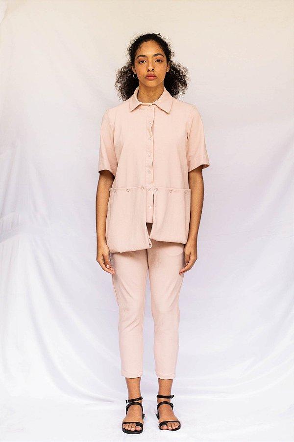 Camisa Louise   Rosa