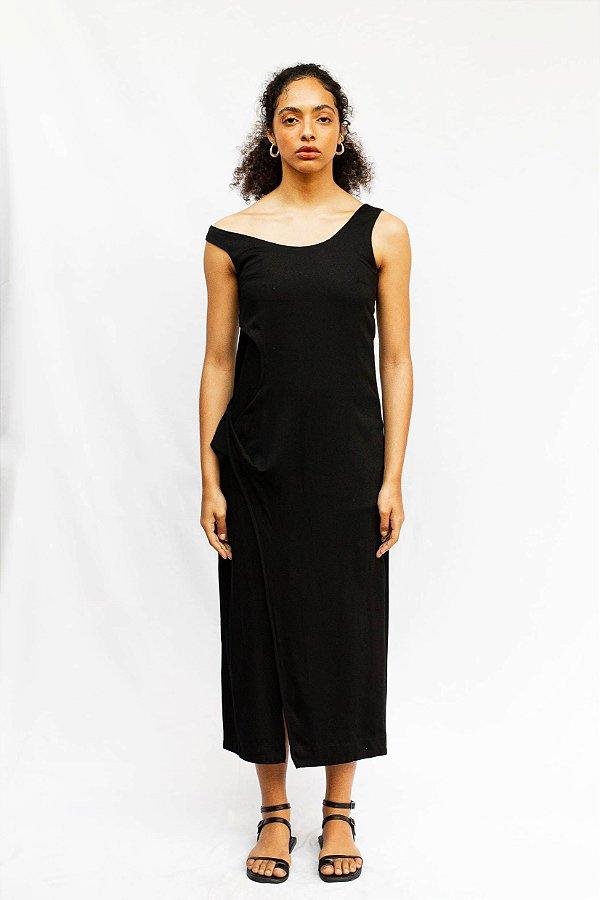 Vestido Nereida - Preto