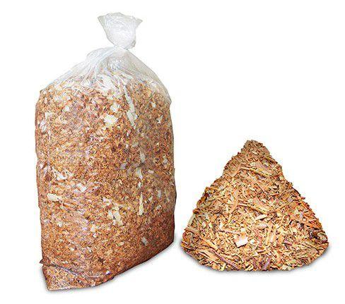 Serragem - cobertura seca para composteiras