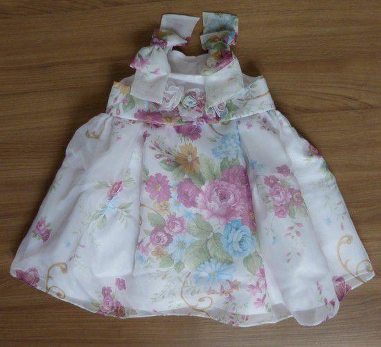 Vestido Infantil Floral Kopela