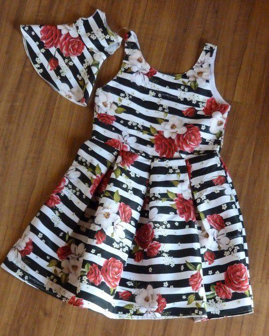 Vestido Infantil C/ Vestido Boneca