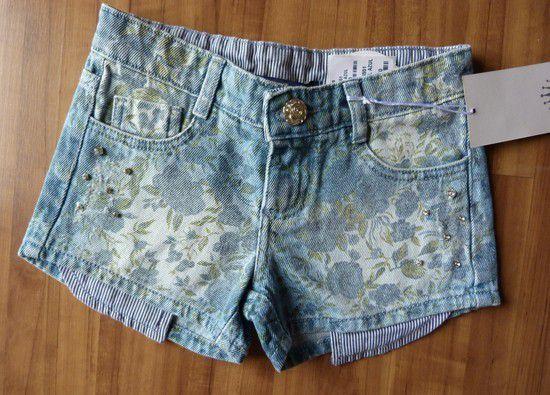 Short Jeans Infantil D.viller