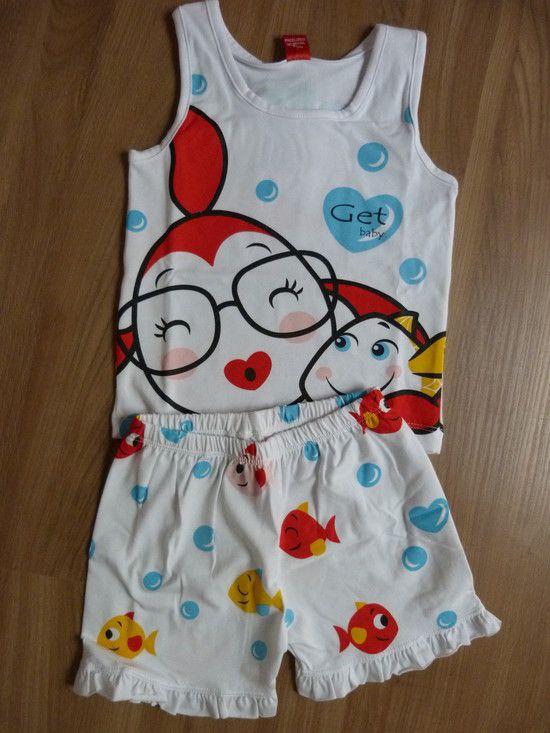 Conjunto Pijama Peixinhos