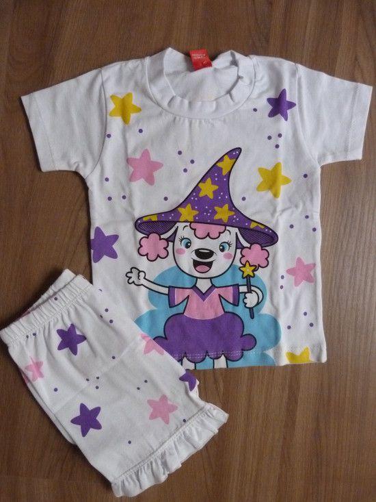 Conjunto Pijama Bruxinha