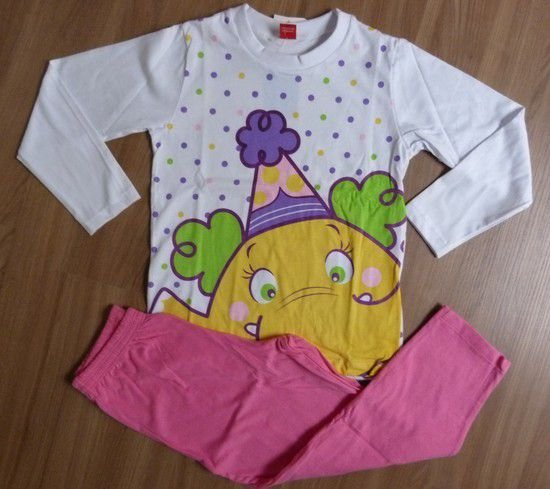 Pijama M/L Elefantinha Circo