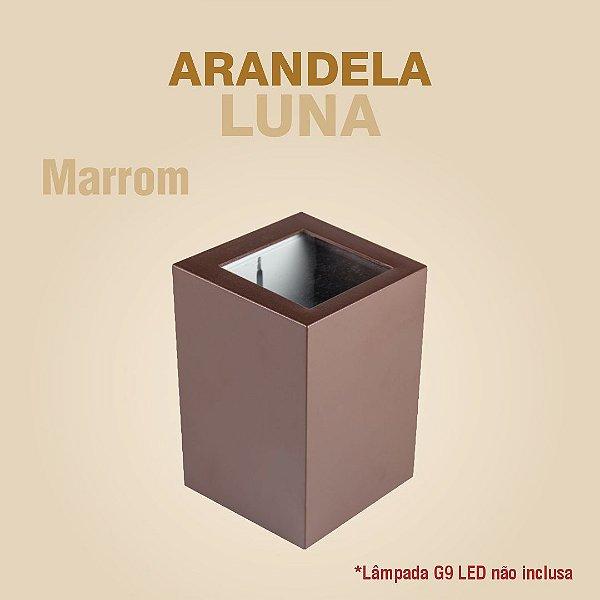 ARANDELA LUNA - MARROM