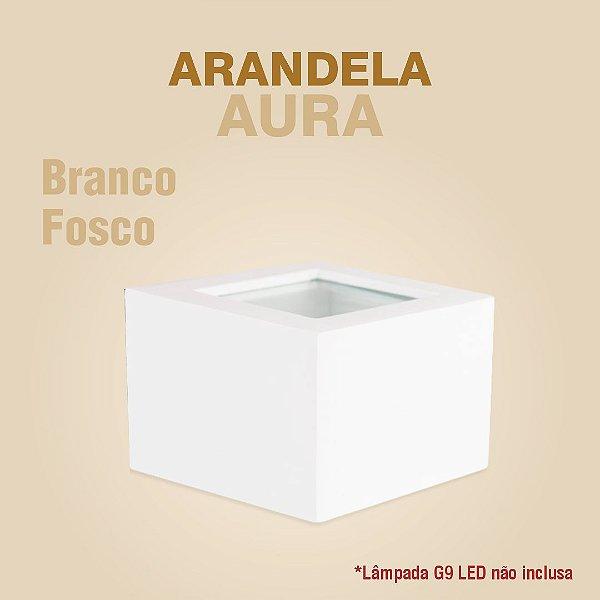ARANDELA AURA - BRANCO FOSCO