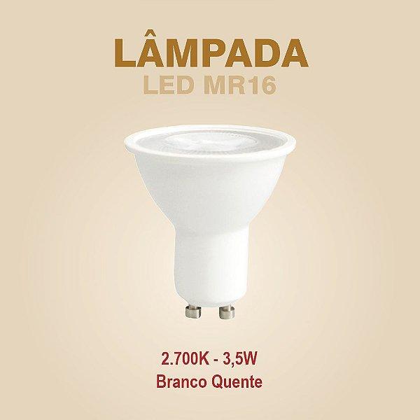 LÂMPADA LED - MR16 GU10