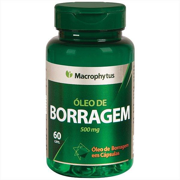 OLEO DE BORRAGEM SOFTGEL 500MG 60CPS MACROPHYTUS