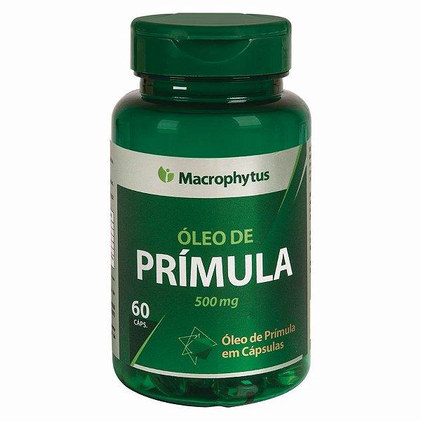 OLEO DE PRIMULA SOFTGEL 500MG 60CPS MACROPHYTUS