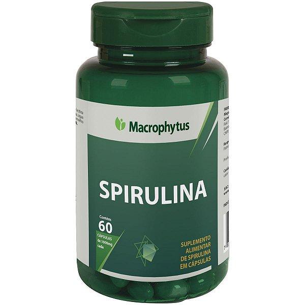 SPIRULINA 600MG 60CPS MACROPHYTUS