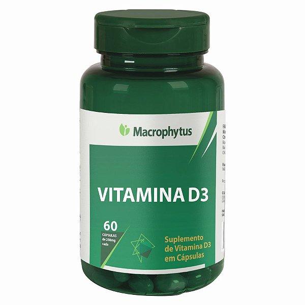VITAMINA D3 SOFTGEL 250MG 60CPS MACROPHYTUS