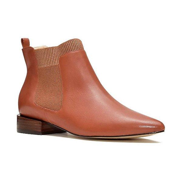 Sapato Feminino Bota Tina Canela