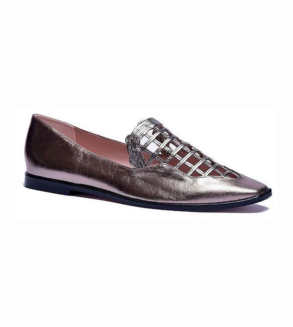 Sapato Feminino Loafer Roberta Prata Velho