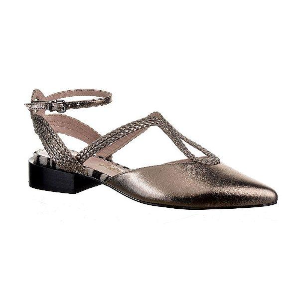 Sapato Feminino Sapatilha Helena Prata Velho