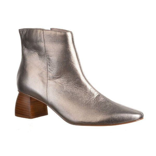 Sapato Feminino Bota Marcela Prata Velho