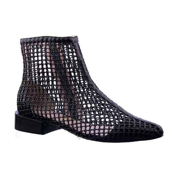 Sapato Feminino Bota Mariana Preta