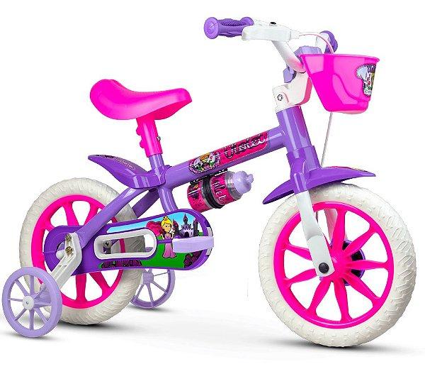 Bicicleta Infantil Aro 12 Violet Nathor