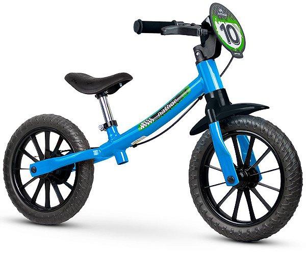 Bicicleta Infantil Sem Pedal Balance Masculina Nathor