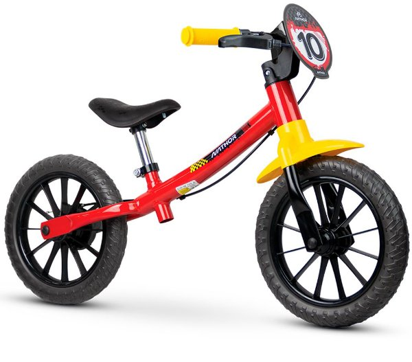 Bicicleta Infantil Sem Pedal Balance Fast Nathor