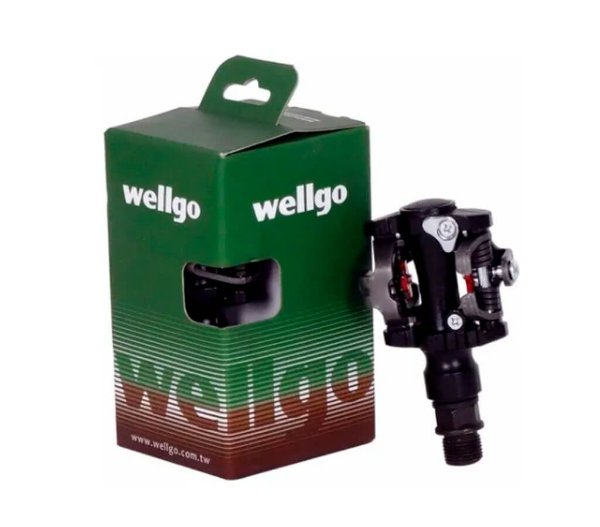 Pedal Clip Wellgo M919 MTB 9/16 Preto