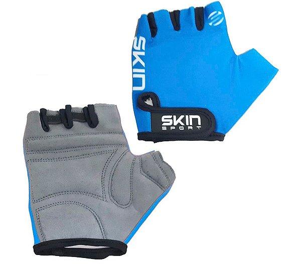 Luva Skin Sport Fun Azul