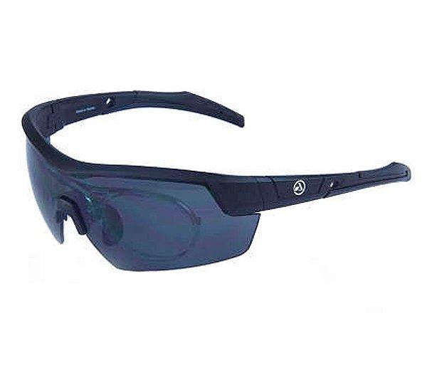 Óculos Absolute Race RX C/ Lente Cinza UV400 C/ Suporte para Lente de Grau