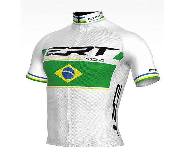 Camisa New Elite ERT Racing Campeão Brasileiro Branca
